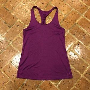 Nike Tops - Purple Nike Dri-fit Workout tank